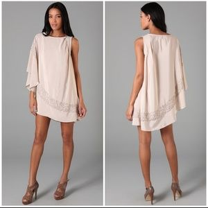 Free People Brighten Your Day Champagne Dress XS